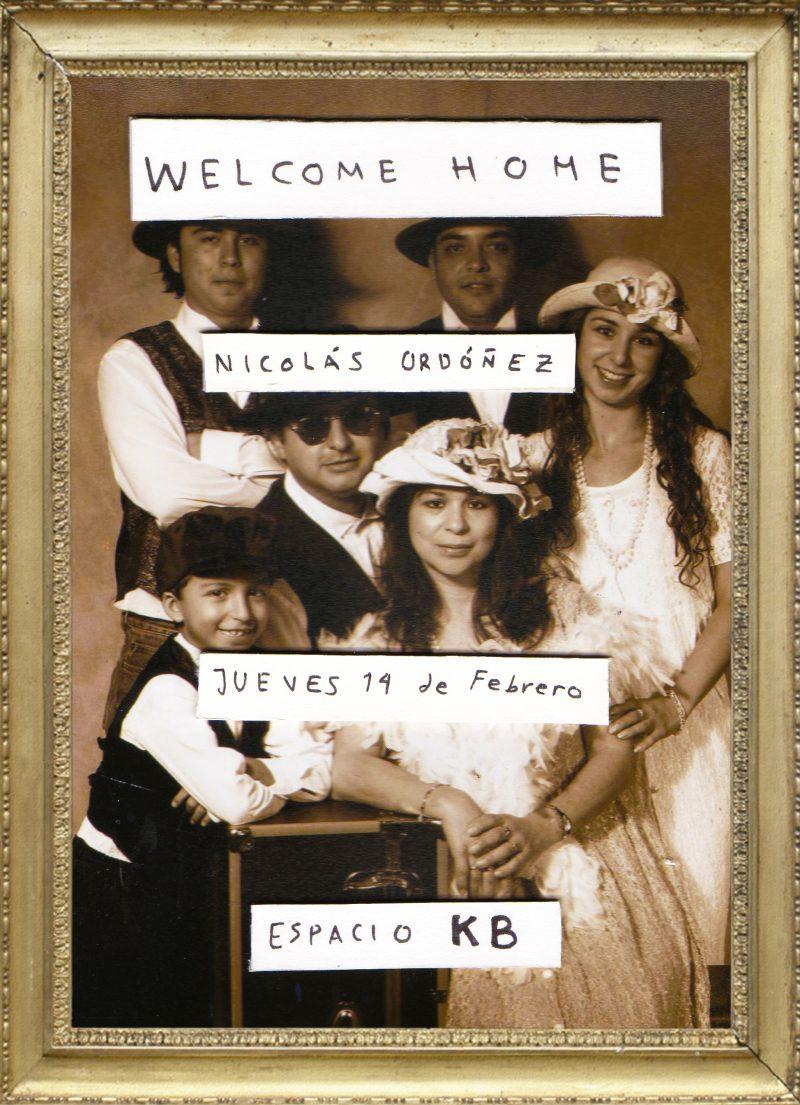 invitacion Welcome home