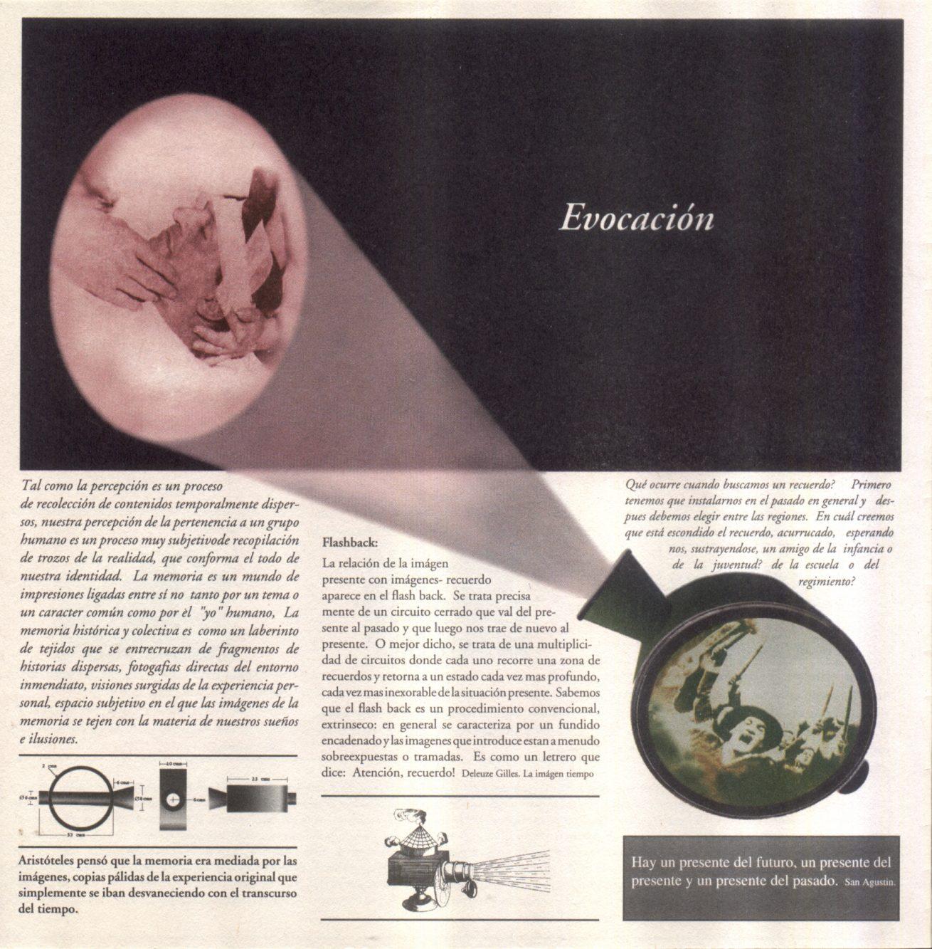En la punta de la lengua (1997). Galería Santa Fe. Video. Detalle.