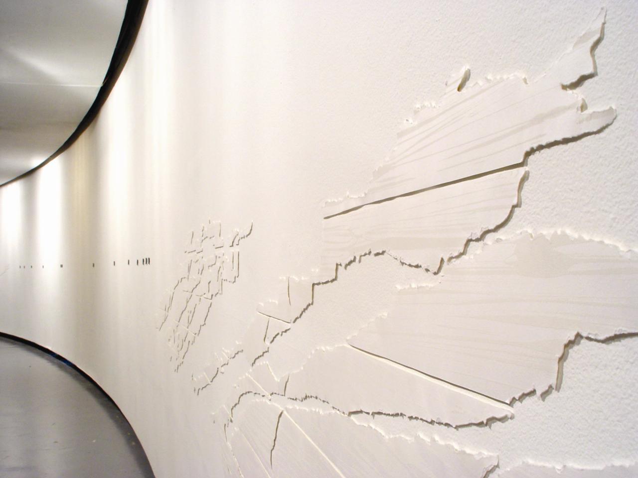Beatriz Eugenia Díaz, «Polaris». Galería Santa Fe, 2007.