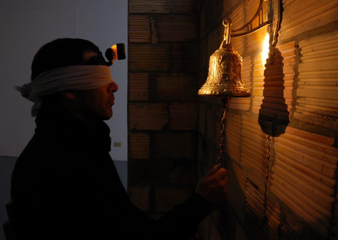 Mario Opazo, «Expulsión del paraíso. Galería Santa Fe, 2009.